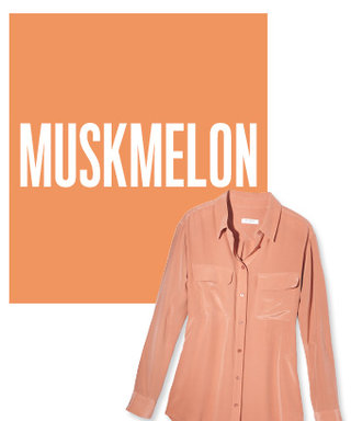 Color of the Day: Muskmelon