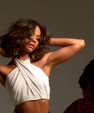 Watch Zoë Saldana On Set of Her InStyle Cover Shoot!