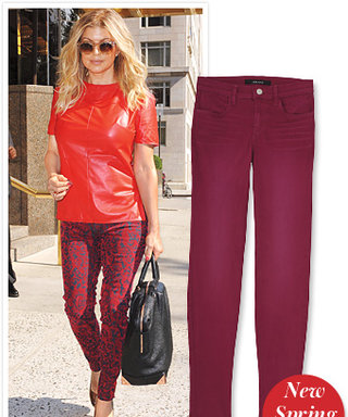 Found It! Fergie's Red Hot J Brand Jeans