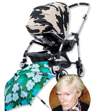 Bugaboo Will Launch Andy Warhol-Inspired Strollers and Umbrellas This May