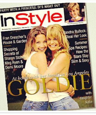 #ThrowbackThursday: Kate Hudson and Goldie Hawn Cover InStyle...in 1996!