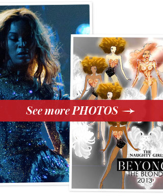 Beyonce's Most Scandalous Tour Costume Ever: Exclusive Details from Designers, The Blonds