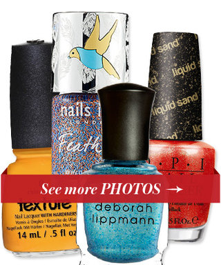 Having a Moment: Textured Nail Polishes