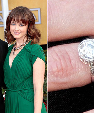A Big Photo for a Big Rock: See Alexis Bledel's Engagement Ring!
