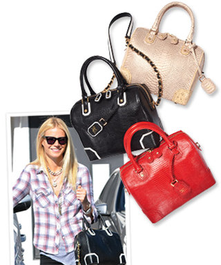 Found It! Gwyneth Paltrow's Leather Carryall