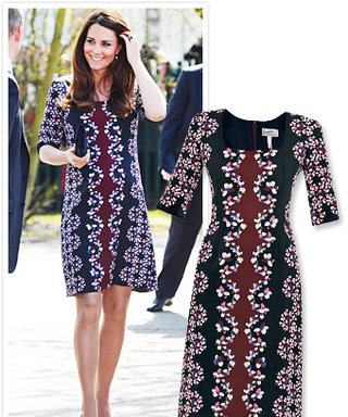 How Kate Middleton's Floral Maternity Dress by Erdem Can Be Yours