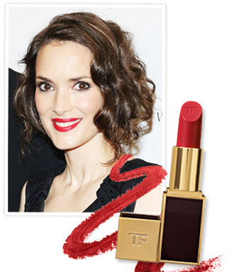 Found It! Winona Ryder's Cherry Red Lipstick