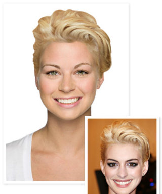Go Punk! Try On Anne Hathaway's Blonde Hair