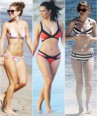 Pick Your Top Five Favorite Celebrity Bikinis in This Week's A-List!