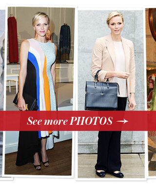 How a Real Princess Dresses: 75 Photos of Princess Charlene of Monaco's Style