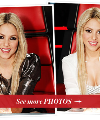 Shakira Shakes it Up with Straight Locks on This Week's The Voice