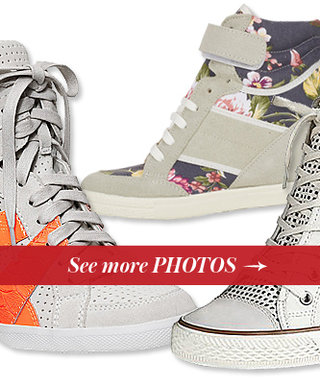 Step Aside Sandals! See 13 Winning Wedge Sneakers for Summer