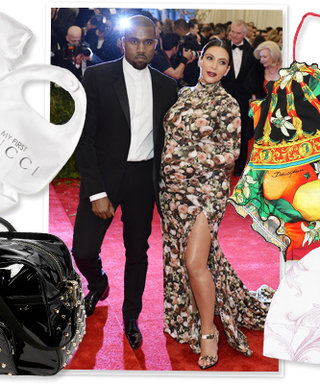 Shopping for Kim Kardashian and Kanye West's Baby Girl: 14 Awesome Designer Baby Items