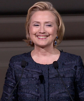 Watch the Video: Hillary Clinton Pitches Project Pantsuit at the 2013 CFDA Awards