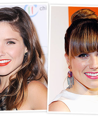 "Sophia Bush's Life After Bangs: ""They Make Me Dress Up More"""