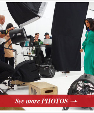 Behind-the-Scenes at Salma Hayek's InStyle July 2013 Cover Shoot