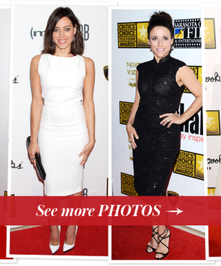2013 Critics' Choice Television Awards Fashion: Stars Try the Black and White Trend