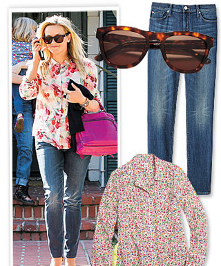 Found It! Reese Witherspoon's Casual Summer Ensemble