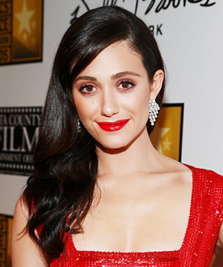 Get the Look: Emmy Rossum's Bombshell Waves