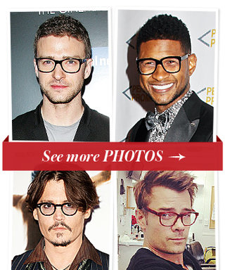 Clark Kent Chic: 14 Super Manly Stars in Geeky Glasses