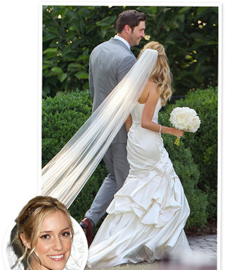 Kristin Cavallari's Wedding Dress: Monique Lhuillier