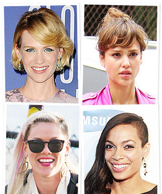 Hollywood Hair Trend: Wispy Bangs and Shorn Sides
