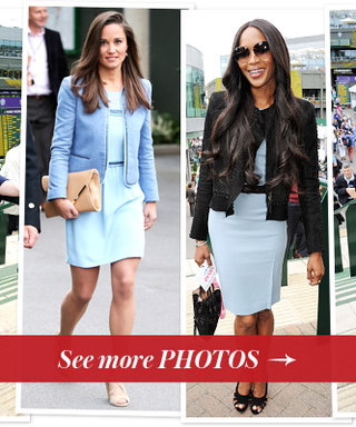 Wimbledon 2013 Celebrity Fans: Pippa Middleton, Naomi Campbell, and More
