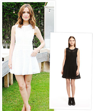 Found It! Rose Byrne's Eyelet Dress