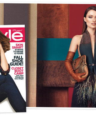 First Look! Three Things You'll Learn About Cover Girl Olivia Wilde in August's InStyle
