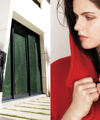 Alexandria Daddario Models for InStyle's August 2013 Issue