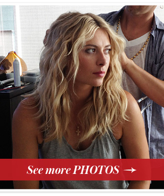 ESPY Awards 2013 Exclusive: Getting Ready With Maria Sharapova