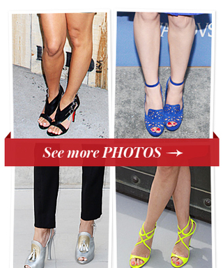 Forget the Dress; It's All About the Shoes