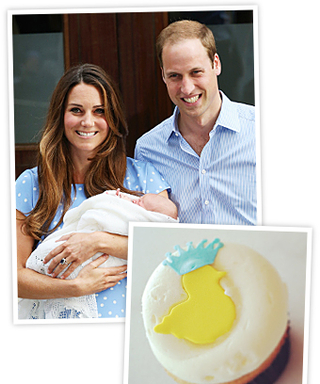 Four Cupcakes Made to Celebrate the Royal Baby's Arrival