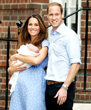 Kate Middleton's Post-Pregnancy Wardrobe: Lots of Black, Vertical Stripes and Caftans?