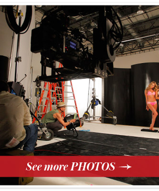 Exclusive Behind-the-Scenes Photos: Victoria's Secret Photo Shoot