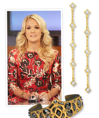 Get Carrie Underwood's Jewelry on Good Morning America for Under $200!