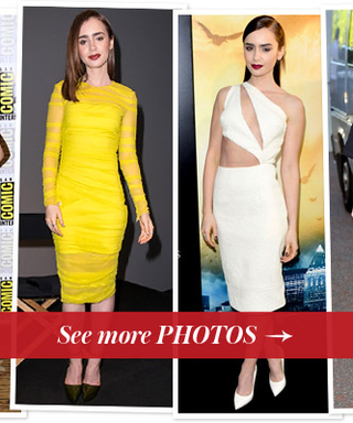 See Lily Collins' Best Looks From The Mortal Instruments: City of Bones Press Tour
