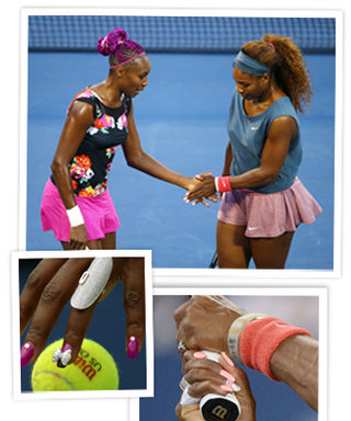 Are Venus and Serena's 3D Manicures Court Regulation at the US Open? Probably Not, But They're Awesome