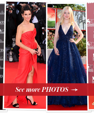 Perfect for Fall, Stars Are Loving Jewel Tones at the Venice Film Festival