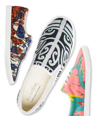 BucketFeet: Sneaker Works of Art