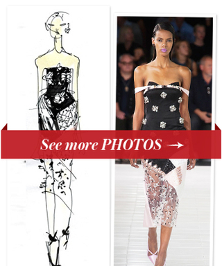 Swarovski Collaborates with NYFW Designers: See Original Sketches of Runway Looks
