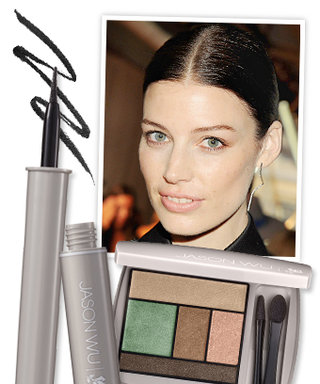 Get the Look: Jessica Paré's Trendy Taupe Eye Shadow