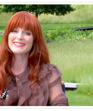 Julianne Moore Is Our October Cover Girl! Get a Sneek Peek at Her InStyle Cover Shoot