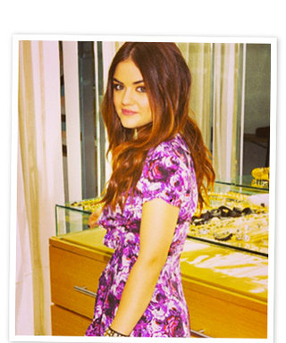 "Lucy Hale Goes ""Wild"" for Juicy Couture"