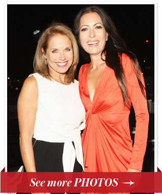 Inside the Party: Katie Couric Kicks Off the Women, Inspiration and Enterprise Symposium