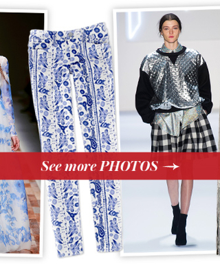 Inspired by the Runway: This Season's Denim Takes a Cue From Designer's Fall 2013 Collections
