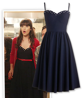Shop the Show via Poessessionista! Zooey Deschanel's Indie-Inspired Dress on New Girl