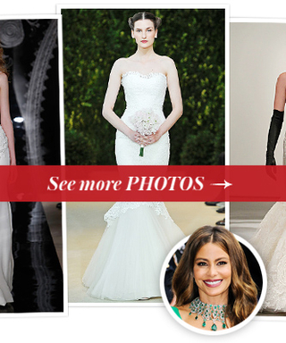 6 Wedding Gown Predictions for Bride-to-Be Sofia Vergara