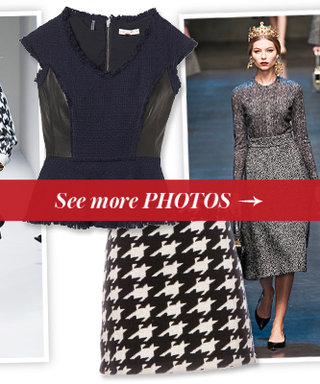 What We're Shopping for Right Now: Our Top 11 Tweed & Houndstooth Pieces