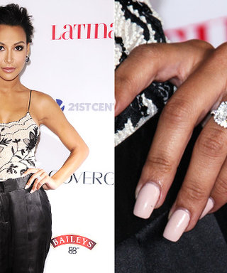 Glee's Naya Rivera is Engaged to Rapper Big Sean! See Her Ring